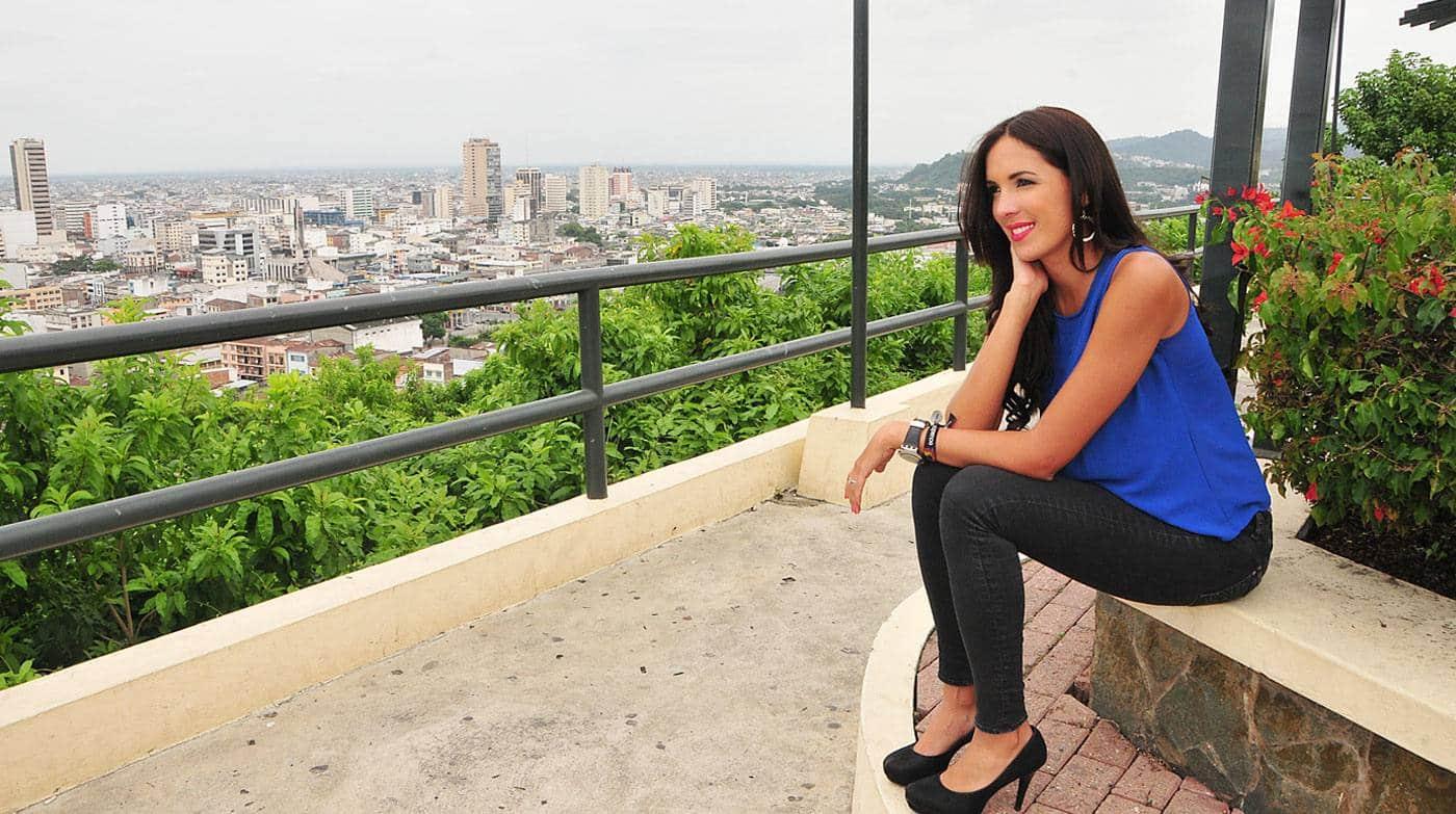 Maria Teresa Guerrero invitada en la hora azul