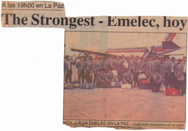 emelec strongest