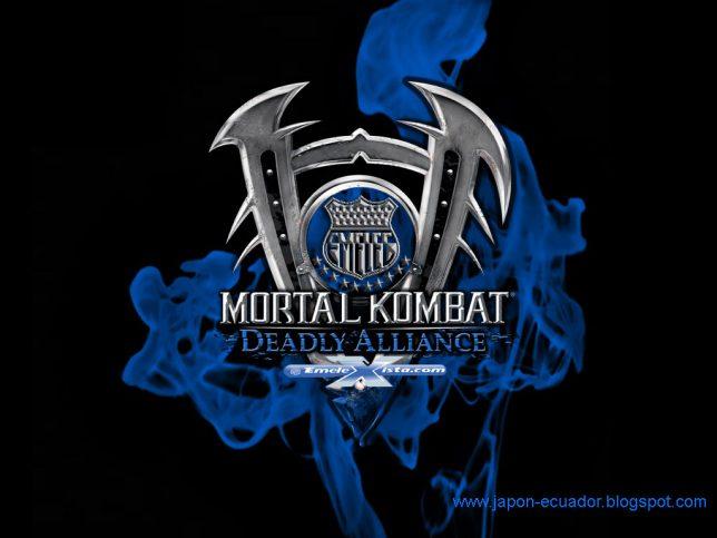 mortal kombat blue