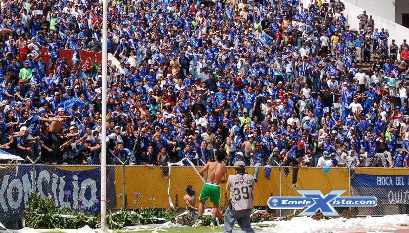 copa libertadores : deportivo quito vs. emelec (25 marzo 2010)