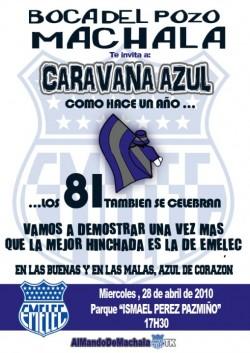 Caravana Machala 81 Años