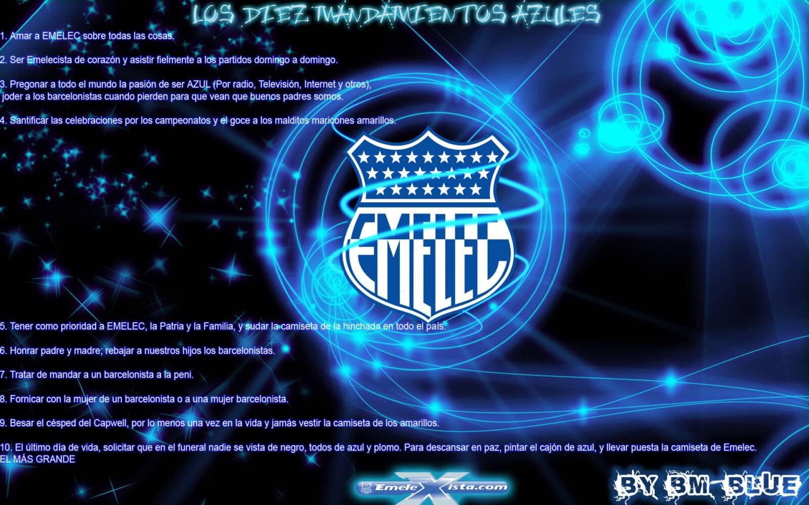 Fondos de pantalla de Emelec por BM-Blue
