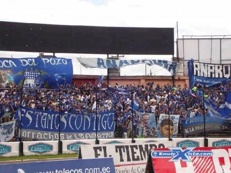 Emelec en Cuenca