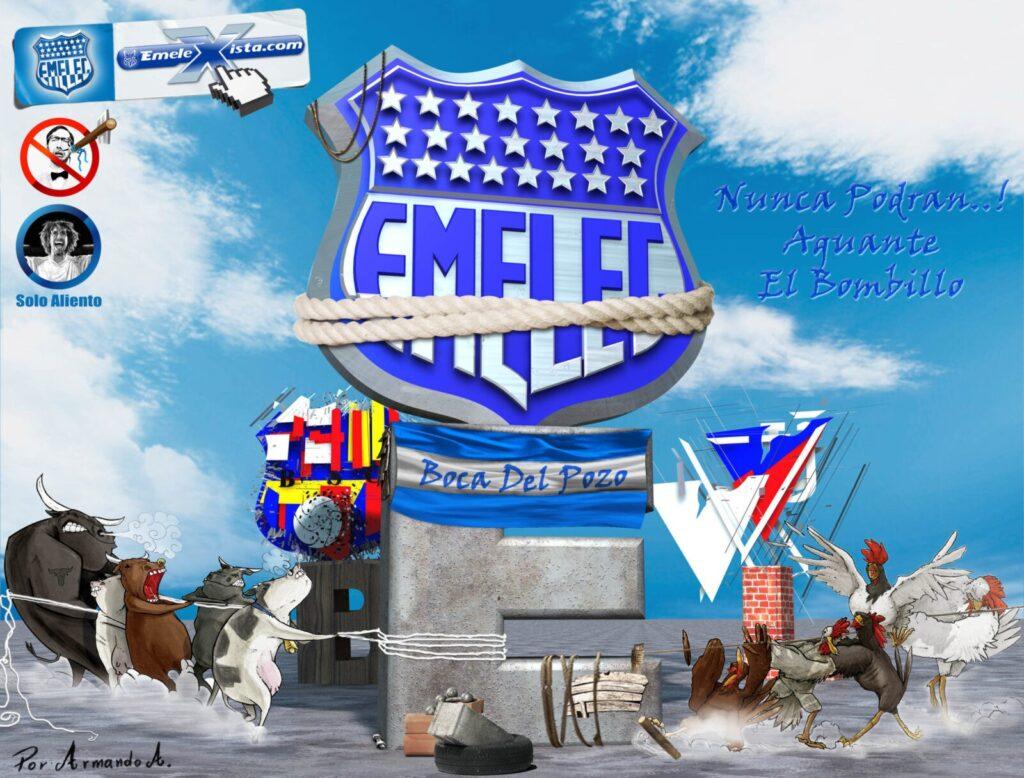 Fondos de escritorio de EMELEC 4 por Armando Arellano