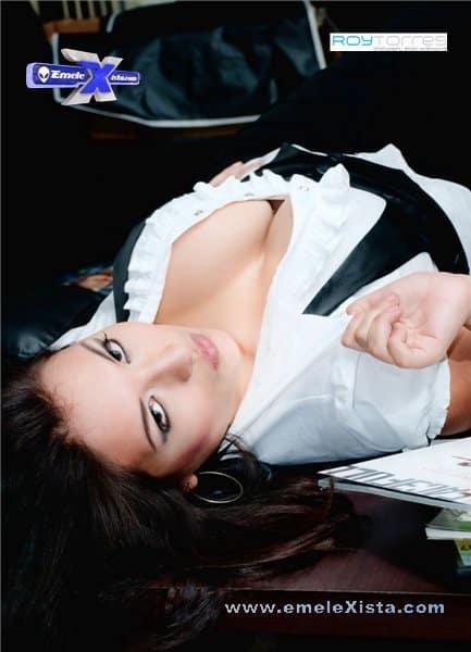 chica sexy emelec genesis 11