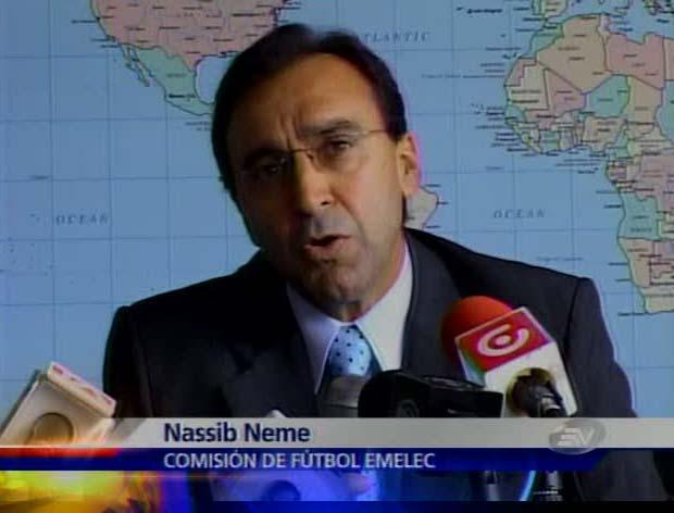 emelexista emelec Nassib Neme