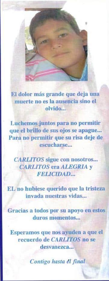 Familia de Carlitos Cedeño demandó a Barcelona