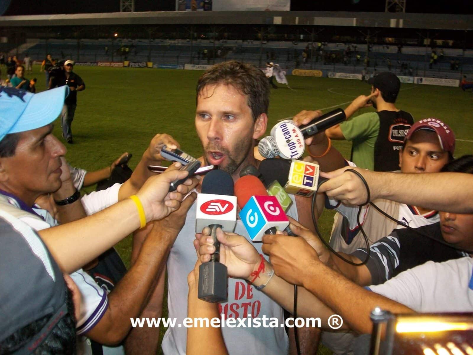 Marcelo Elizaga estaria en recuperacion por 2 semanas