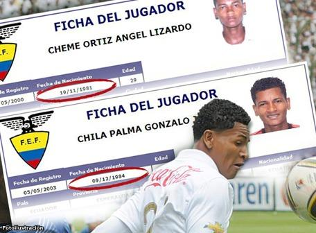 la f.e.f molestÓ en el fÚtbol ecuatoriano