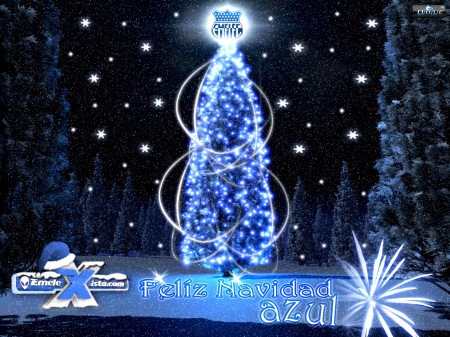 nuestra navidad es azul