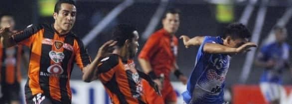 copa libertadores : emelec 1 – jaguares 0 (16 marzo 2011)