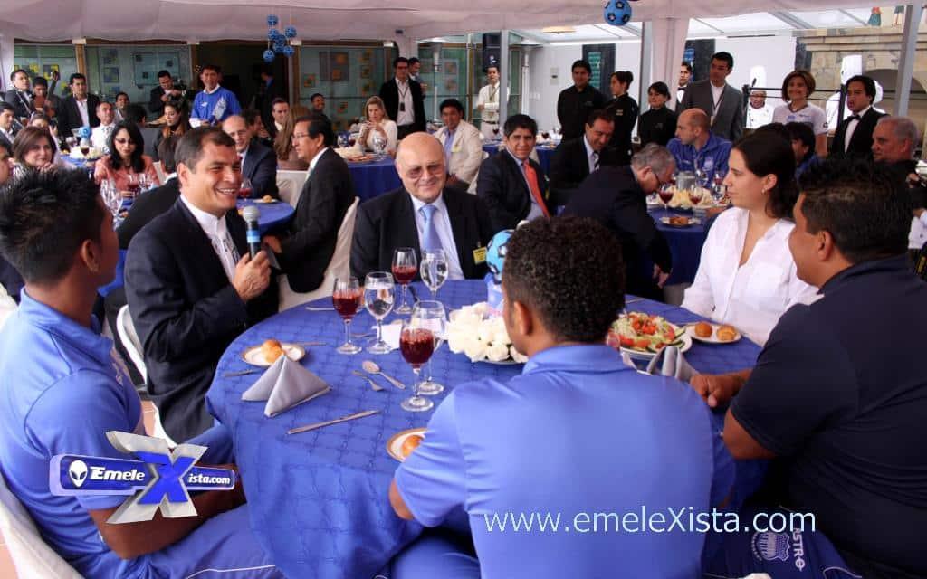 presidente de ecuador asistirá a la reinauguración del museo de emelec