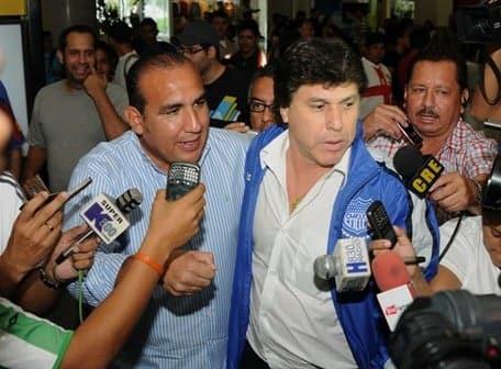 JR Carrasco llegó a Guayaquil