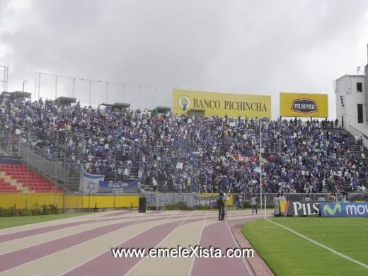 emelexista emelec hinchada de EMELEC Estadio Atahualpa