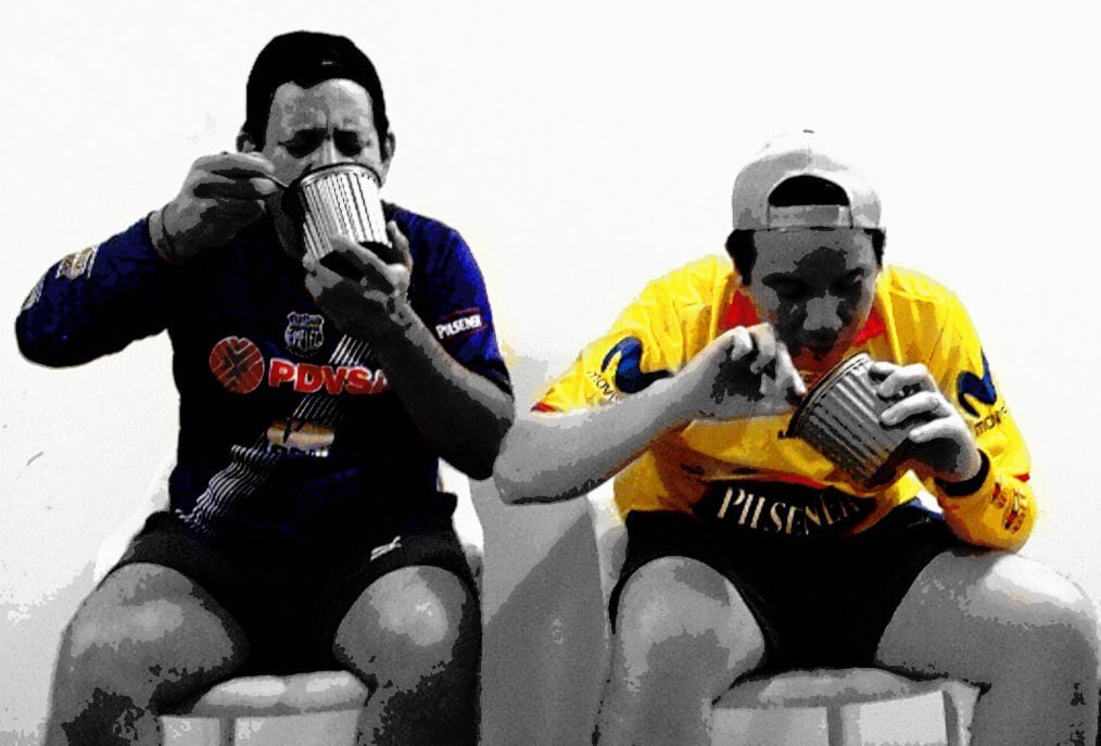 Clásico : hinchas azules y amarillos hacen apuestas en Manabí