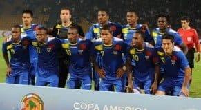 Partido amistoso : Ecuador vs. Costa Rica