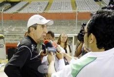 """Copa Sudamericana : Pelusso """"Venimos a buscar el triunfo"""""""