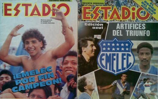 Emelec Campeon 1988