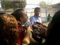 Sánchez: Es un orgullo acompañarlo en su primera experiencia como DT
