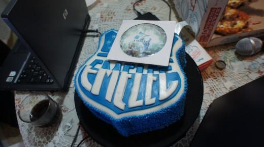 @BakeNParty cocinó esta torta de Emelec