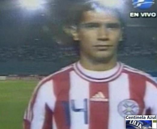 Fernando Giménez seleccion Paraguay