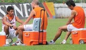 Figueroa habla de la reunión entre jugadores y Fleitas