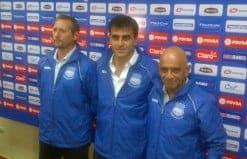 El nuevo DT Gustavo Quinteros llegó a Guayaquil y fue presentado