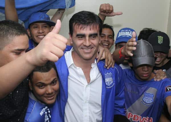 Gustavo Quinteros debuta en banquillo del Emelec