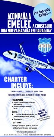Charter Emelec Copa Sudamericana