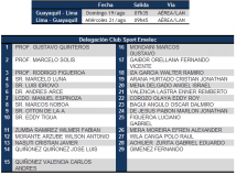 Boletín Oficial : Viaje y Delegación a Lima por Copa Sudamericana