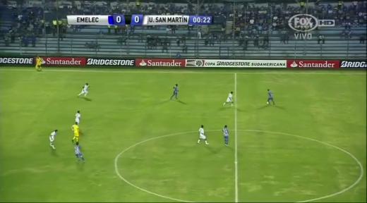 Emelec San Martin Copa Sudamericana