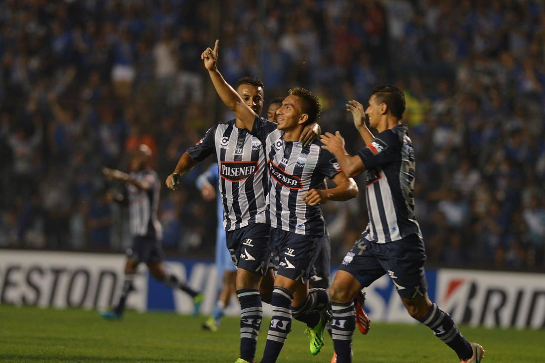 Copa Libertadores : EMELEC 2 x 1 Bolívar (13 de Febrero 2014)