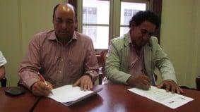 La Boca del Pozo firmó acta de compromiso de paz