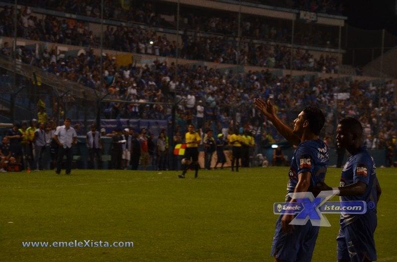 copa sudamericana : emelec vs. Águilas doradas (26 agosto 2014)