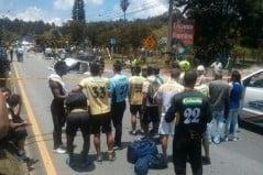 Cinco integrantes del Águilas Pereira mueren en accidente de tránsito