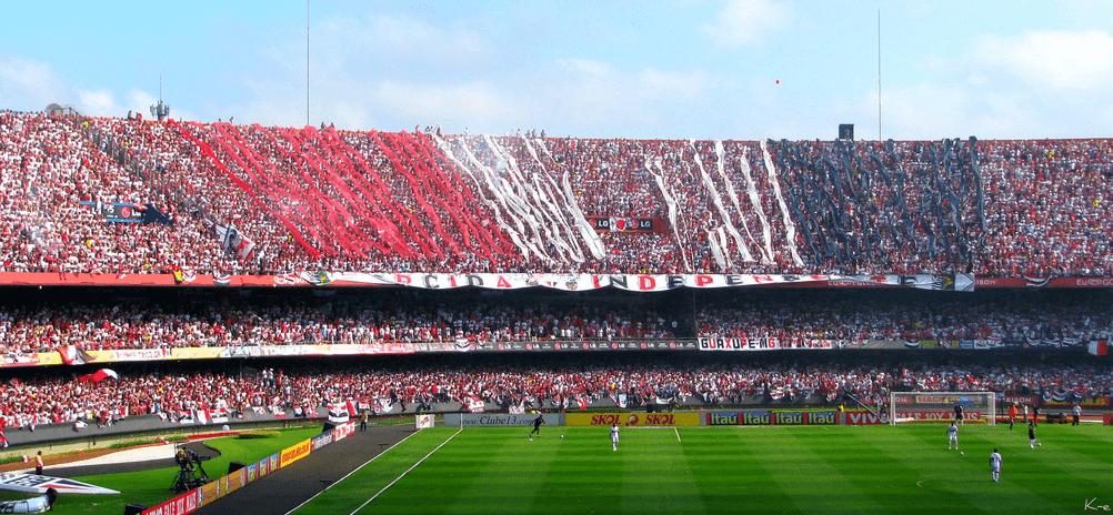 sao paulo vs. emelec por árbitros paraguayos
