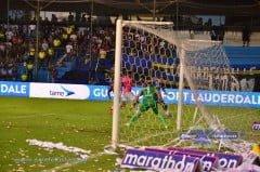 EMELEC ganó 1 x 0 Independiente del Valle (23 de Noviembre del 2014)