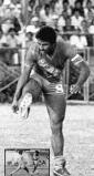 Jesús Cárdenas goleador y arquero improvisado en 1980