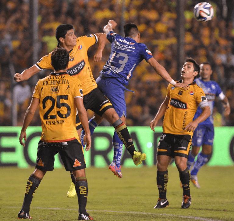 resultado del partido emelec 0 x 1 barcelona (19 de noviembre del 2014)