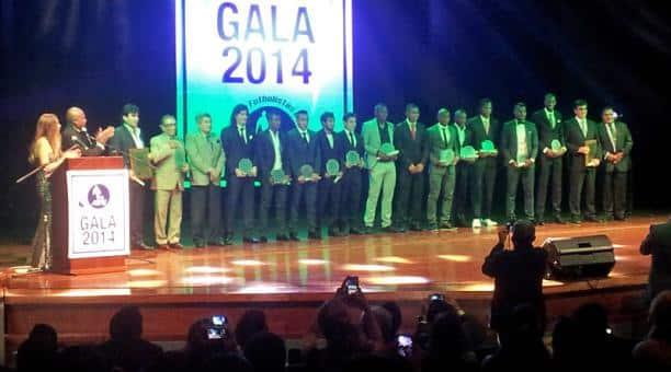 afe eligió a los mejores futbolistas del año en el fútbol ecuatoriano