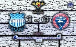 EMELEC 1x0 Olmedo (14 de Diciembre del 2014)