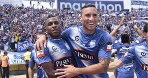 Miller Bolaños en el 11 ideal de la Copa Sudamericana