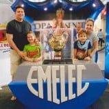 Mira la Copa de EMELEC en el Paseo Shopping