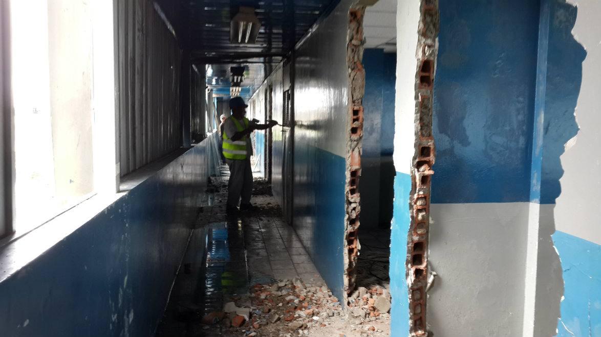 comenzó la remodelación del estadio george capwell