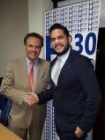 Mira a Carlos Ochoa y José Luis Quiñónez visitaron Radio emeleXista