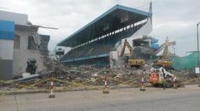El Capwell está en etapa de demolición