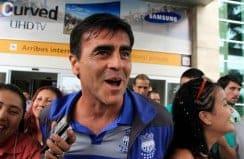 Los hinchas aún festejan el triunfo azul en Chile