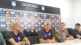 omar de felippe fue presentado en el club sport emelec