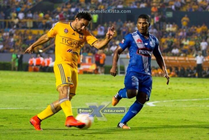 copa libertadores : tigres 2 vs 0 emelec (26 de mayo del 2015)