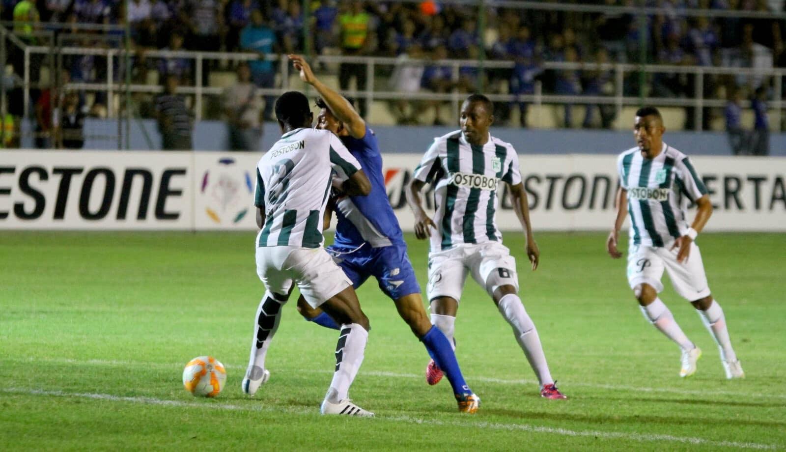 emelec 2 vs 0 atlético nacional (7 de mayo del 2015)